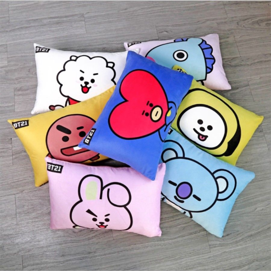 Costume Props Hearty Kpop Bts Exo Got7 Twice Army Wanan One Bt21 Army Bomb Light Stick Plush Throw Pillow Cute Sofa Cushion New Gifts Costumes & Accessories