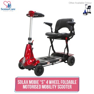 Solax Genie Automatic Folding Motorised Mobility Scooter 1