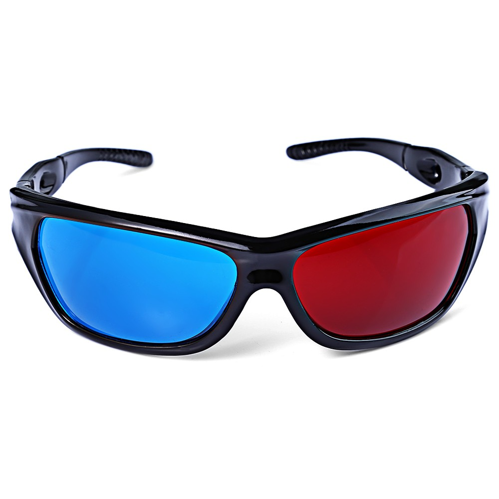 f18cb179ec Universal Type 3D Glasses Red Blue Cyan 3D glasses Anaglyph 3D Plastic  Glasses