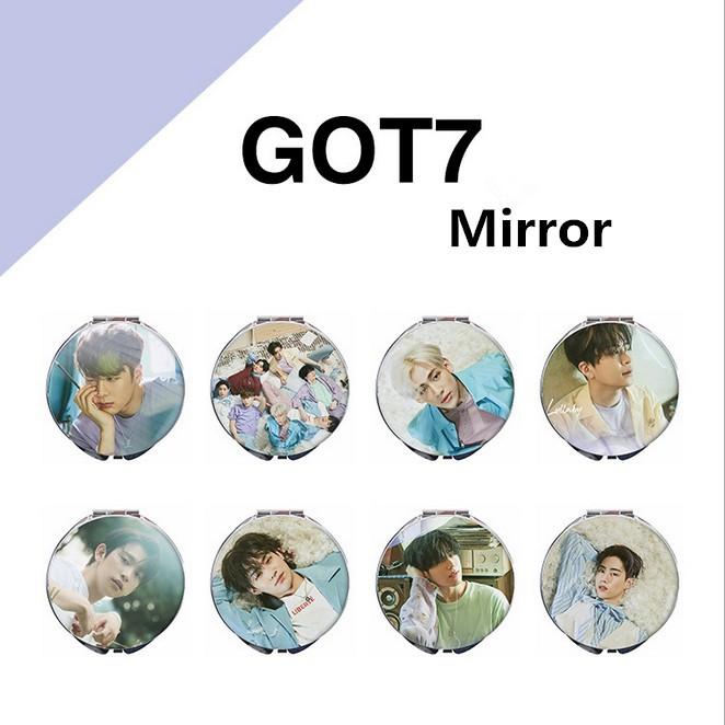 KPOP GOT7 Present:YOU Hand Mirror Makeup Cosmetic Tool Portable Mirror