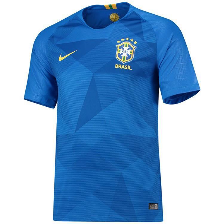de306e3c5 Top Quality Brazil 2018 World Cup Away Football Jersey Soccer jersey ...