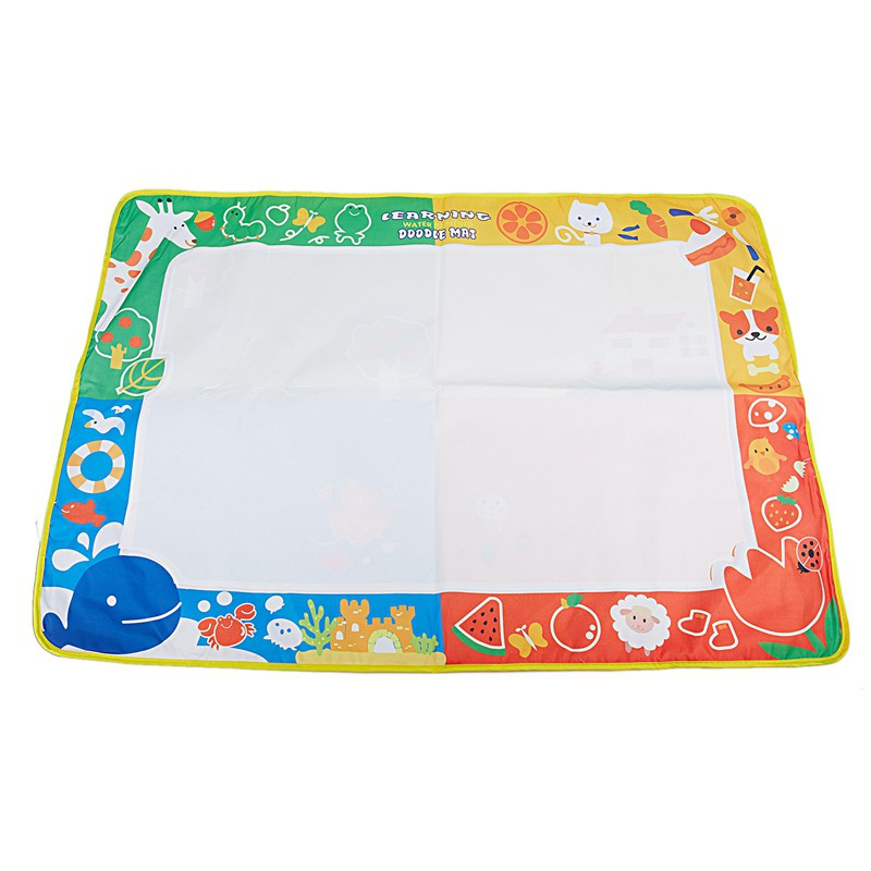 Coolplay Baby Kids Water Coloring Mat Magic Pen Doodle Painting Drawing Board