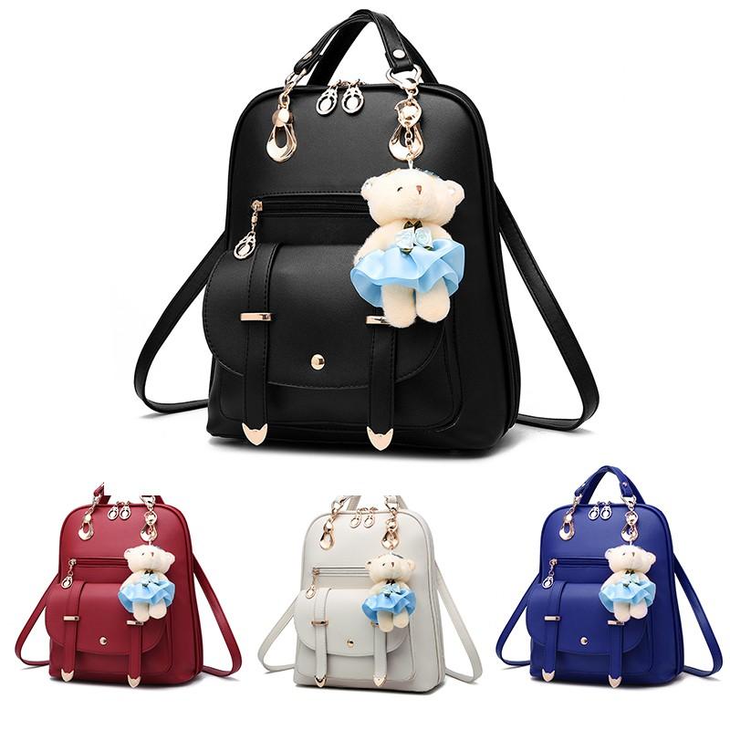 749f3ebcf6 Adidas BP ROLL TOP 3D Trifolium rhomboid backpack leisure fashion Retro