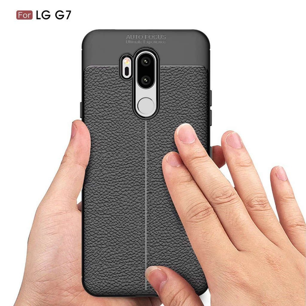 684aac885cc ✨LG G7 Soft Litchi Pattern TPU Phone Case LGG7 Mobile Back Cover | Shopee  Singapore