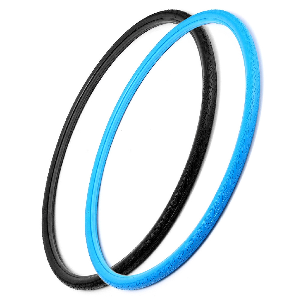 Details about  /Black 700Cx23mm Solid Fixed Gear Road Bike Tire Bicycle Cycling Tubeless Tyre s