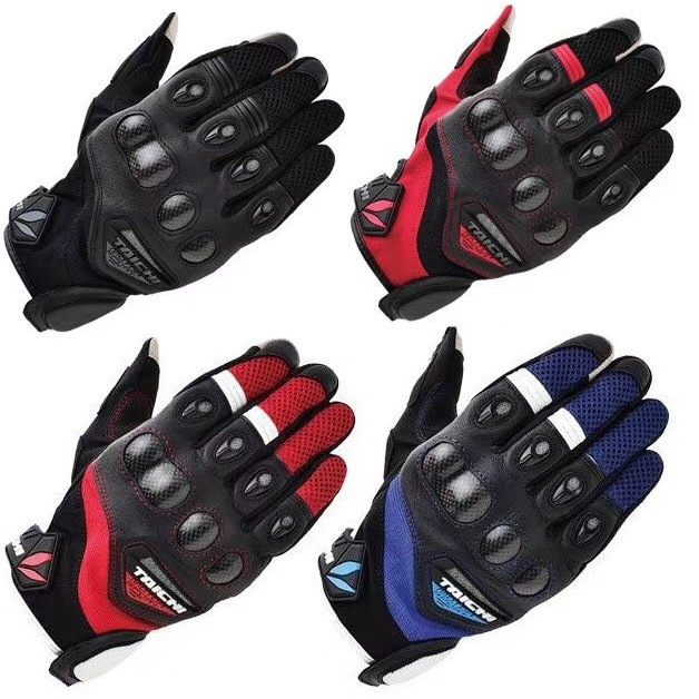 taichi rs418 gloves biker racer racing motocross safety gloves new
