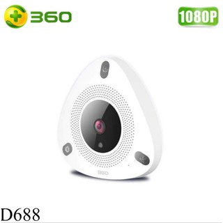 360 Smart D688 Shop Home IP Wifi Camera CCTV 1080P Night