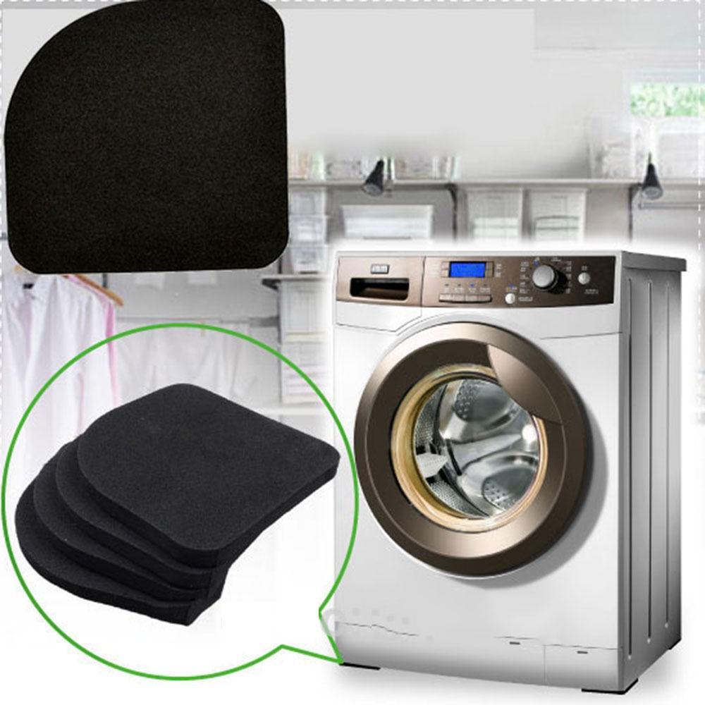 4pcs Multifunctional Refrigerator Washing Machine Anti-vibration Pad Mat Products Hot Sale Home Improvement