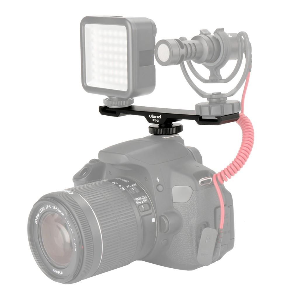 Andoer Flexible i-TTL Hot Shoe Extension Shelf Rod Flash Light Speedlite Bracket for Nikon DSLR Cameras