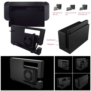Replacement Cooling Fan Cooler Dock Station Stand For