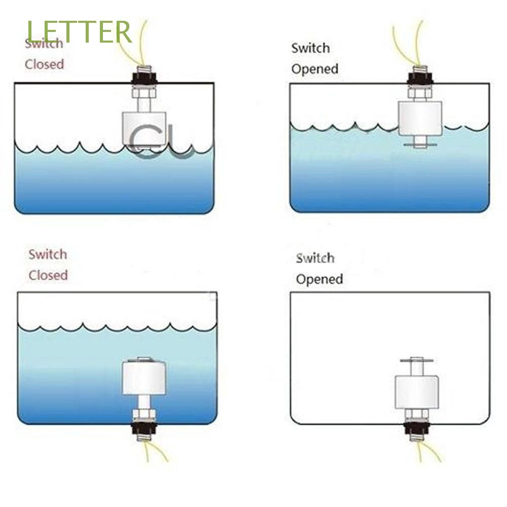 Small Indicator Stainless Steel  Vertical Water Level Sensor Float Switch