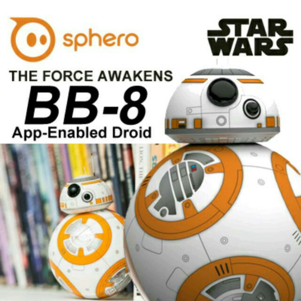 Sphero Star Wars Bb 8 With Droid Trainer And Free Force Band Bb8 Special Edition Bundle By App Enabled Shopee Singapore