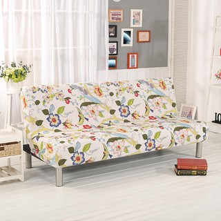 Flower Pattern All Inclusive Anti Slip Folding Sofa Bed Cover Couch Towel
