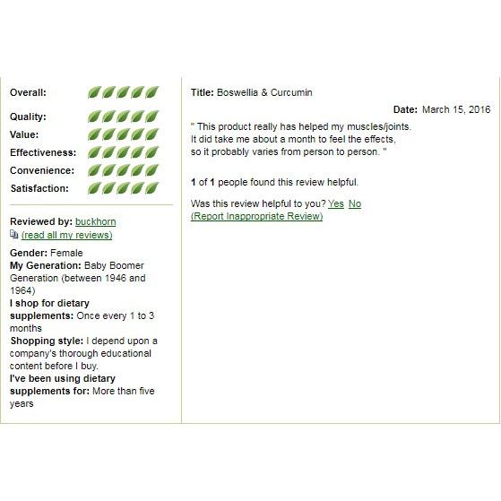 Boswellia & Curcumin | Shopee Singapore