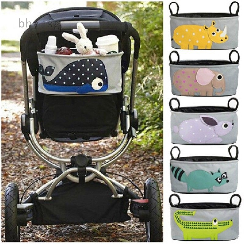 Baby Pushchair Multifunctional Stroller Organizer Hanging Bag Nappies Storage