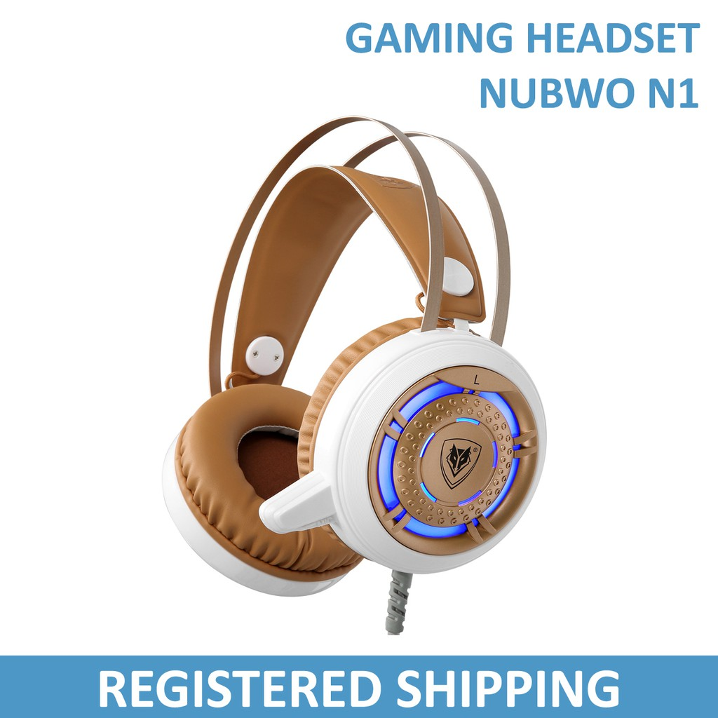 Nubwo N2 Gaming Headset With Microphone Shopee Singapore Headshet Stereo No040