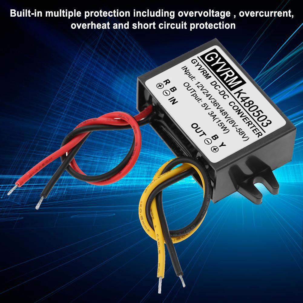 Overvoltage Protected 5v Power Supply