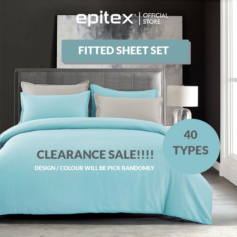Epitex Silkysoft 900TC Random Pick Bedsheet Set 12 Colors (without quilt  cover) | Fitted Sheet | Shopee Singapore