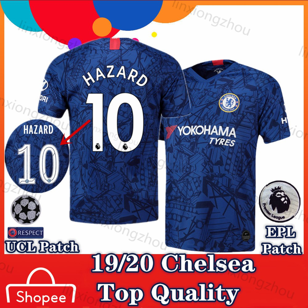 size 40 eb486 ff672 Top Quality Chelsea Home 19/20 and 18/19 Soccer Jersey Football Jersey