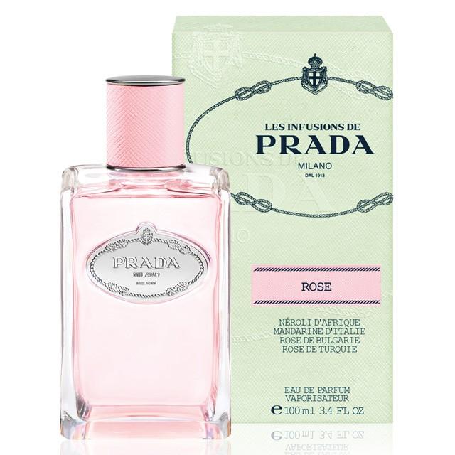 794c0277 Prada Les Infusions De Rose EDP for Women (100ml) Eau de Parfum Milano Pink