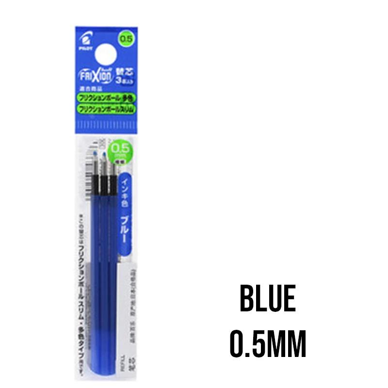 Black Ink Parker Compatible 0.5mm Ballpoint Pen Refills Latest WO/_ 10pcs Blue