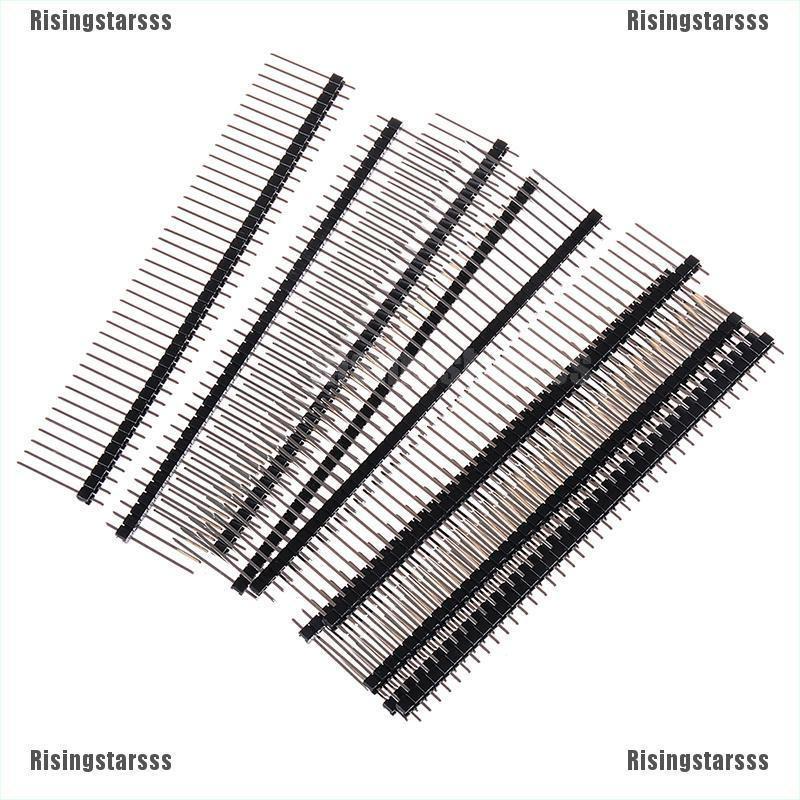 20PCS 1*40 40Pin 2.54mm 19mm Long single row Male Breakable Pin Header
