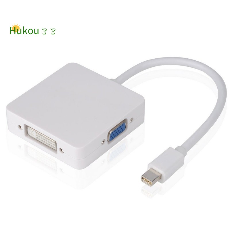 Mini//Thunderbolt DP to VGA Video Adapter Cable For Apple Macbook Pro Air Mini