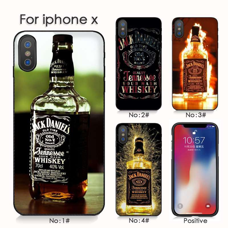 Jack Daniels Whisky For iphone 7 X XS XR Phone Cover