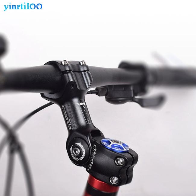 25.4mm//31.8mm MTB Bike Stem Riser Folding Road Bicycle 7 Degree Stem Riser Black