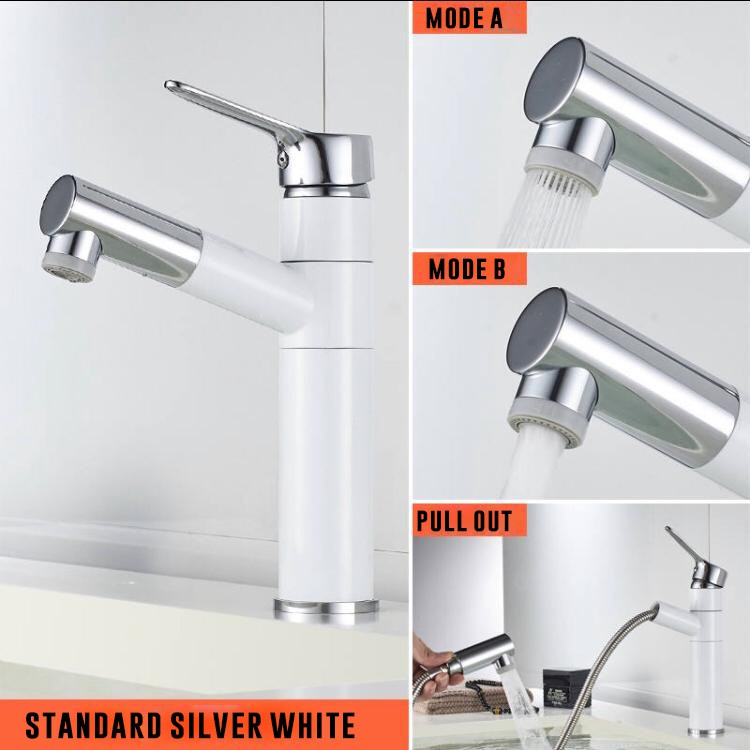 Image result for Pull-Type Water Faucet TIKTOK Wash Basin Sink   singapore