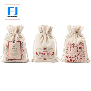 Christmas Gift Packages.Christmas Gift Bags Drawstring Organza Gift Packages Santa