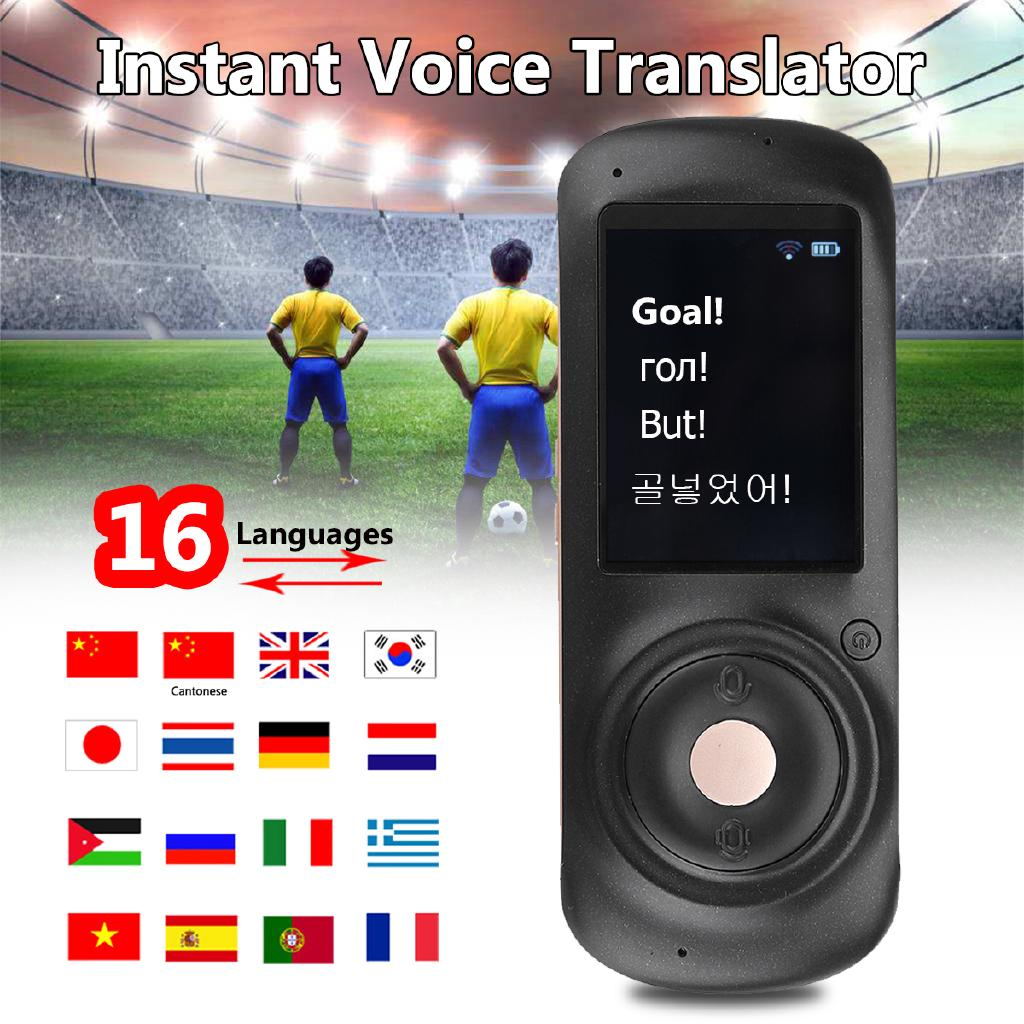 2 0'' Instant Smart Voice Translator Real Time WiFi 41
