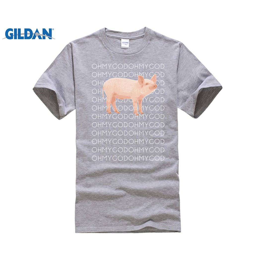 0099fc10af Diy Shane Dawson Oh My God Pig T-Shirt Cotton Print Mens T Shirt Casual  Black | Shopee Singapore
