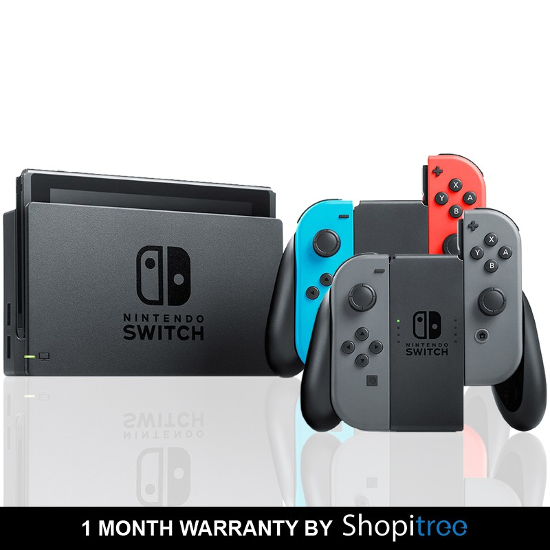 Nintendo Switch Console + 30 Days Warranty by Shopitree
