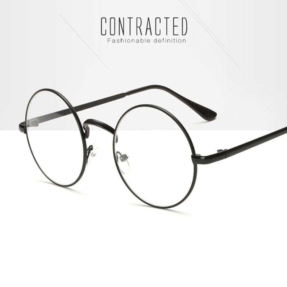 5597dd75a5 ProductImage. ProductImage. 👇🔥Vintage Metal Frame Round Circle Lens  Eyeglasses ...