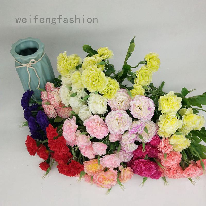 Weifengfashion Artificial Flowers Fake Peony Silk Hydrangea Bouquet Decor Plastic Carnations Realistic Flower Arrangements Wedding Decoration Table Centerpieces Shopee Singapore