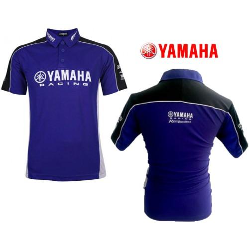 Yamaha Racing Polo T Shirt Motogp Mcd Colrc Gy Shopee Singapore