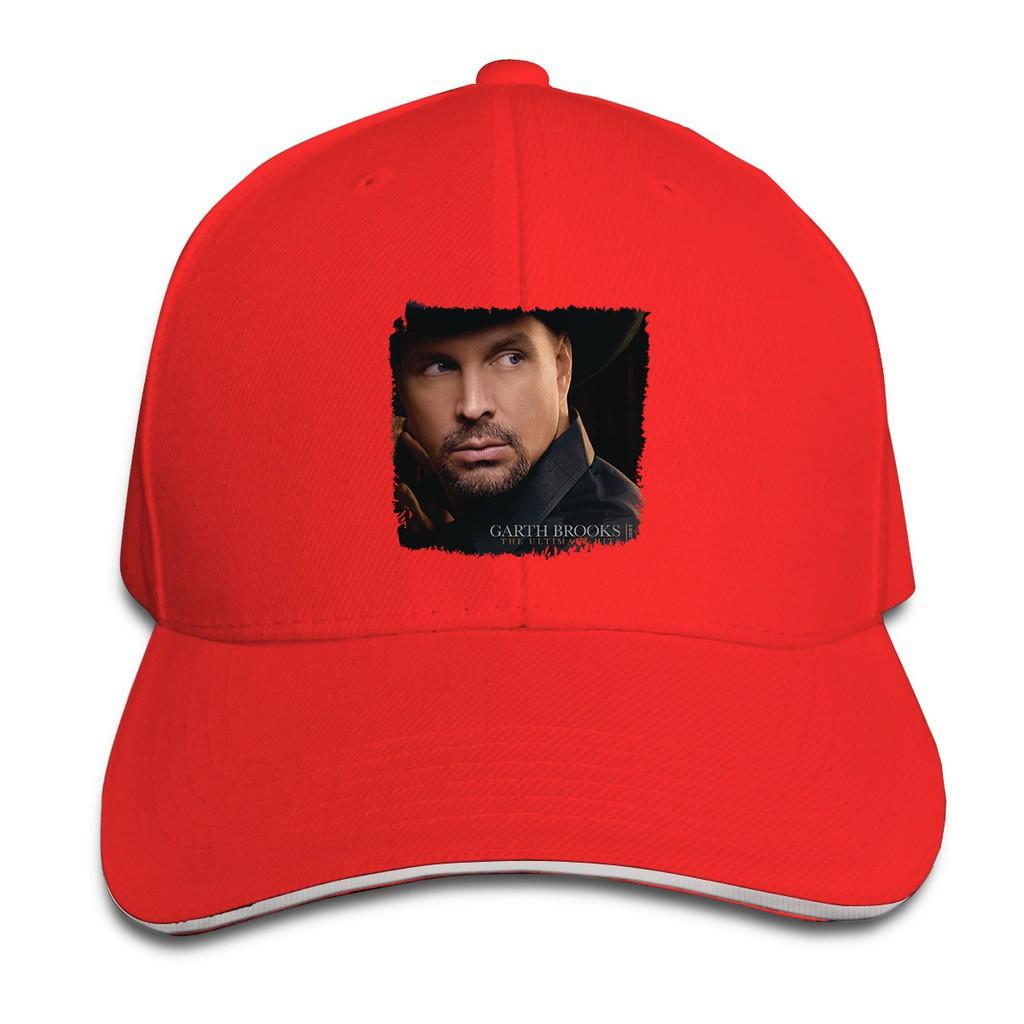 Garth Brooks Logo Hip Hop Cute Cap Unisex Men Women Baseball Snapback Hat