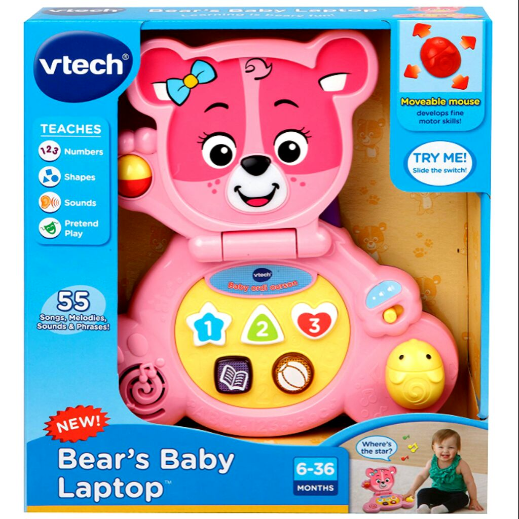 Brilliant New Vtech Baby Little Light Up Singing Puppy Blue Cot Toy Sounds Pram Strap Gift Other Toys For Baby