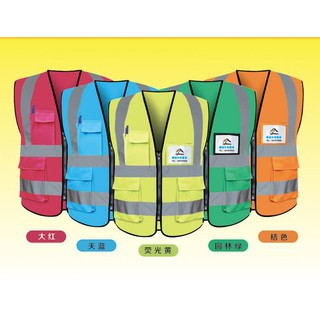 02b8c04df461 High Visibility Reflective Safety Vest Road Construction Working Clothing