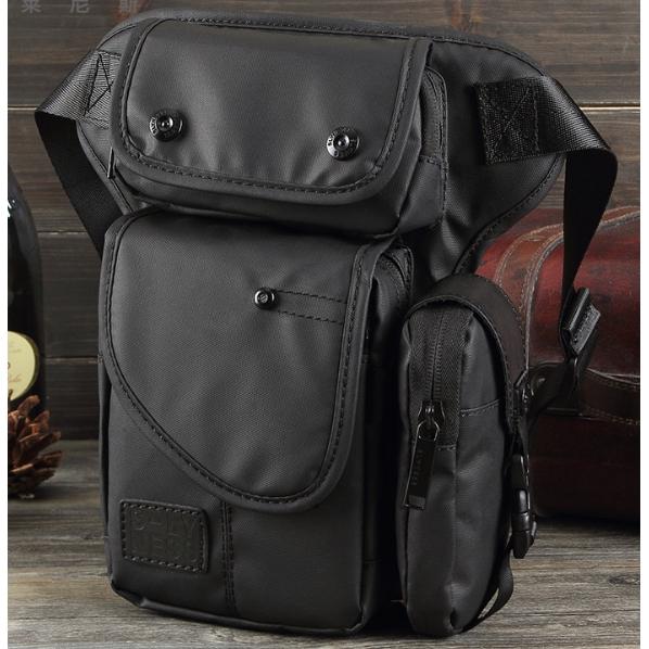 Men Waterproof Oxford Waist Bag Travel Drop Leg Motorcycle Tactical Backpack