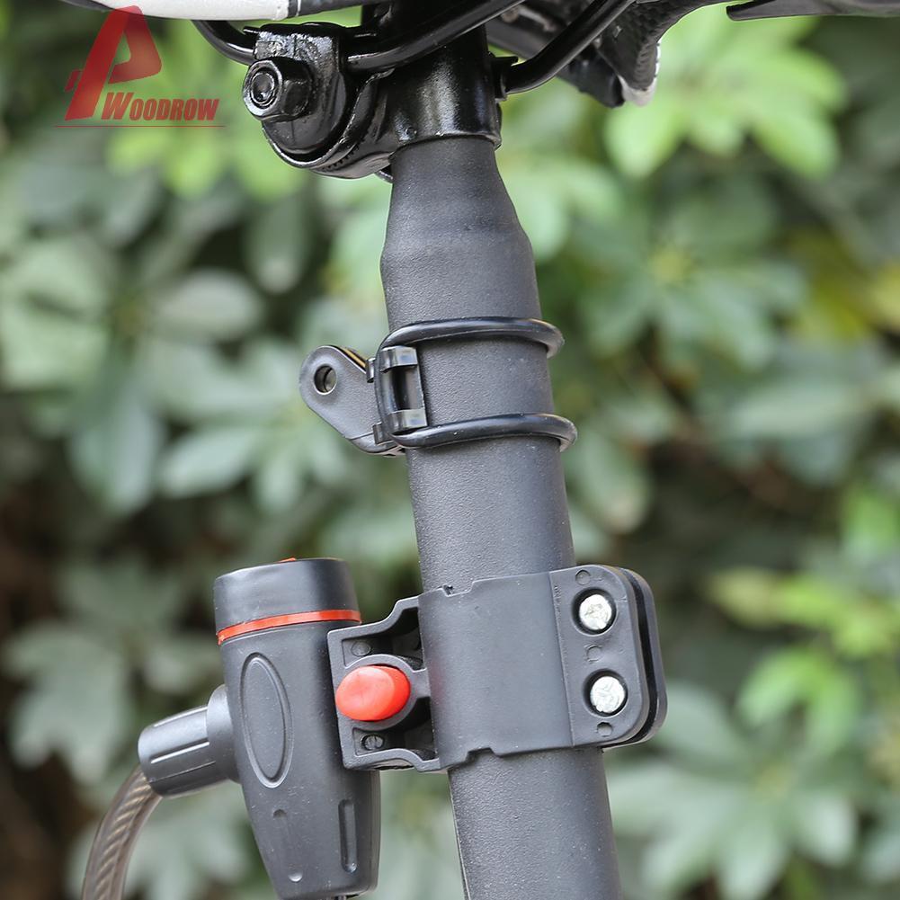 MTB Road Bike Number Stopwatch Plate Mount Holder Flashlight Bracket Support US