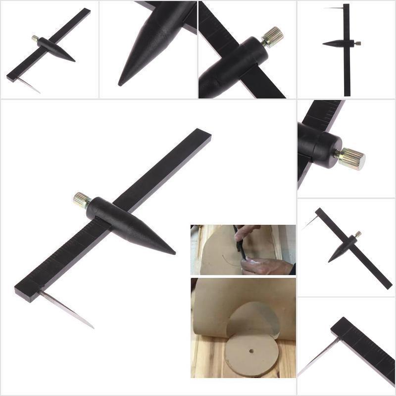 Clay Pottery Compass Circle Cutter Measuring Ruler Caliper Tool Ruler 1-34cm