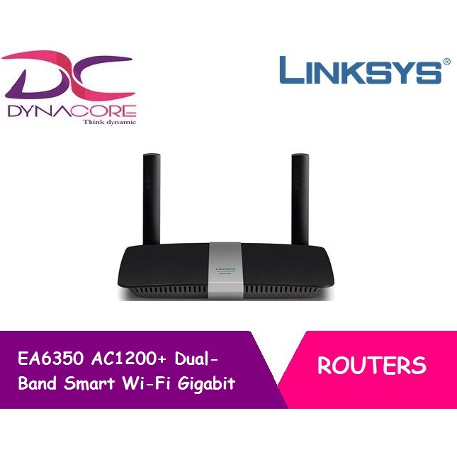 Linksys EA6350 AC1200+ Dual-Band Smart Wi-Fi Gigabit Router