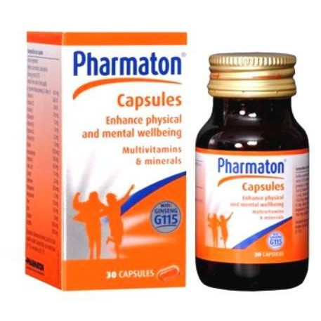 Pharmaton Capsules With Selenium 30's