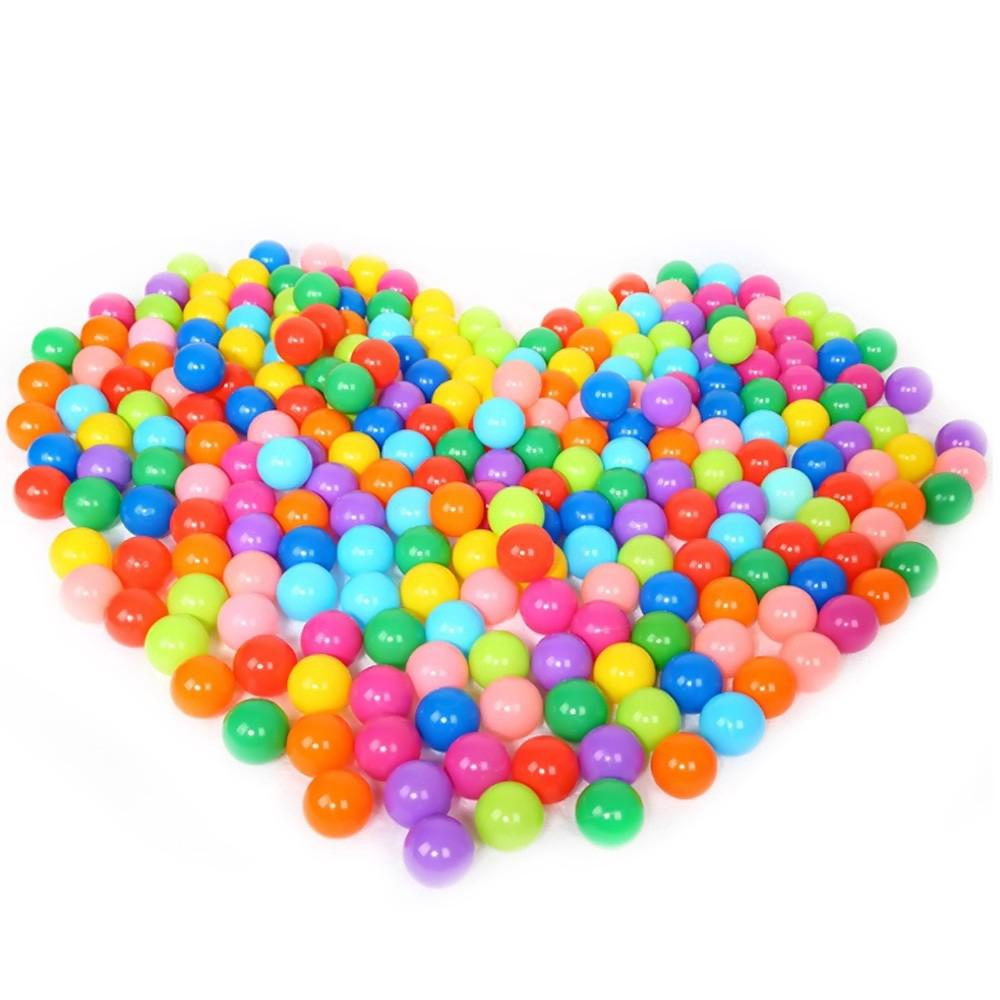 competitive price 0a680 e20df 100 PCS Colorful Soft Pit Balls Playing for Ball Pits Play Pools Playhouses  J363