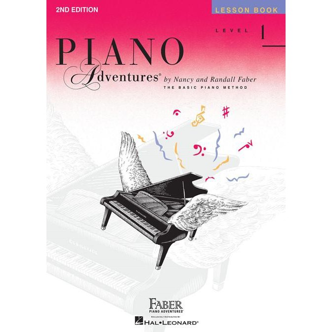 Hal Leonard Piano Adventures by Nancy and Randall Faber Lesson Book Level 1 2A 2B 3A 3B 4 5