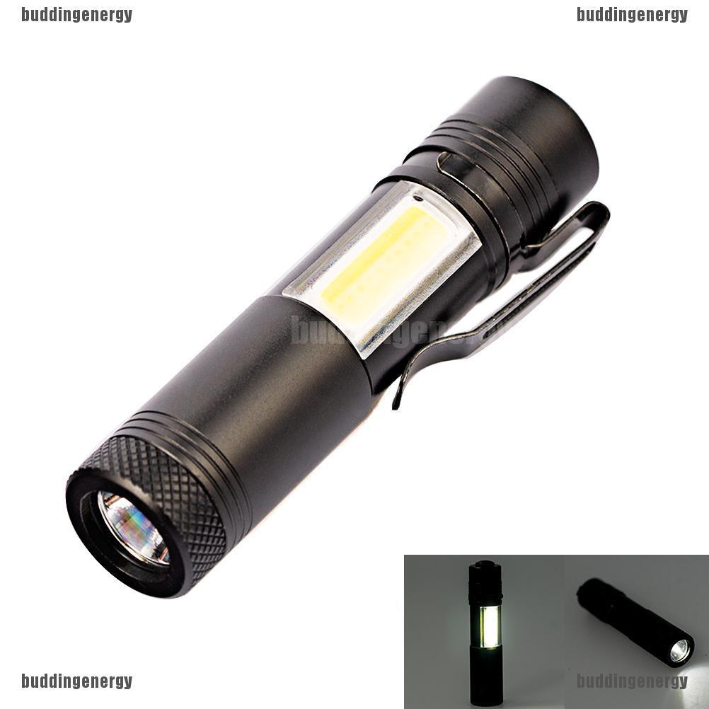 Mini Portable Tactical Zoomable Flashlight 20000LM Q5 COBLED Torch Lamp Penlight