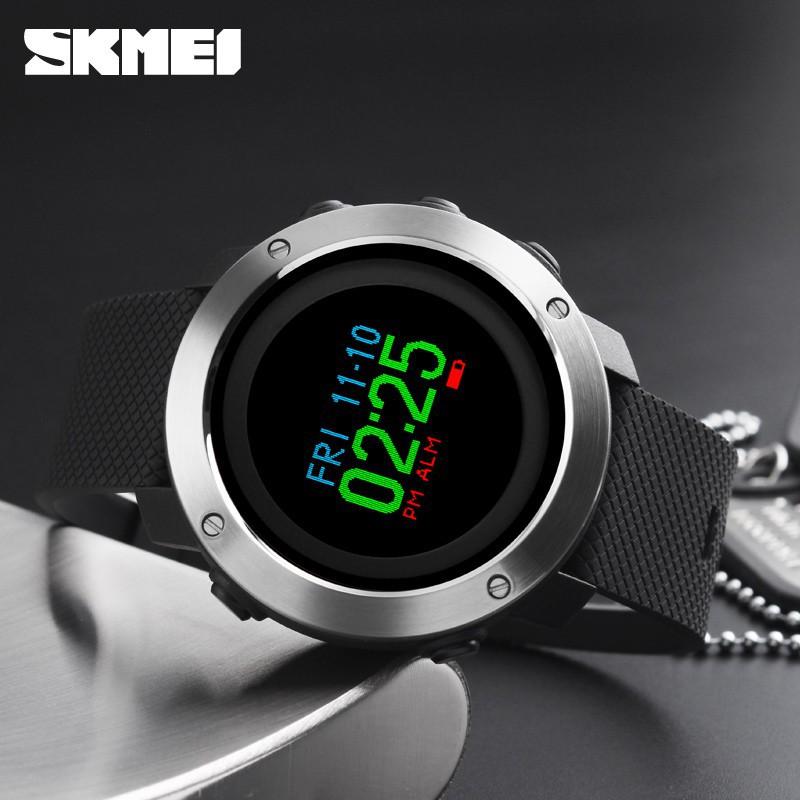 SKMEI 1321 Sports Smart Watch Men Pedometer Shock watches | Shopee Singapore