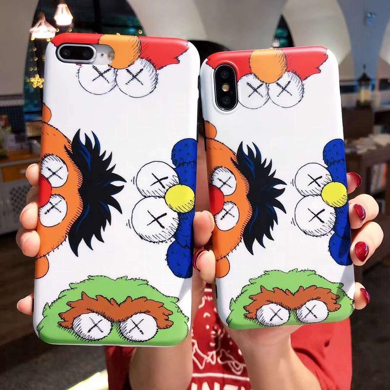 Cute Cartoon Anime Sesame Street Soft IMD Case Cover for iPhone 6 6S